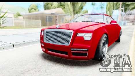 GTA 5 Enus Windsor Drop for GTA San Andreas right view