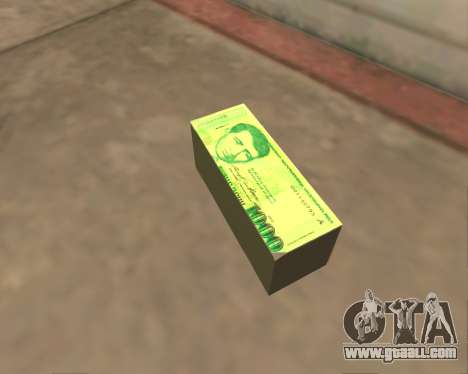1000 Armenian Dram for GTA San Andreas fifth screenshot