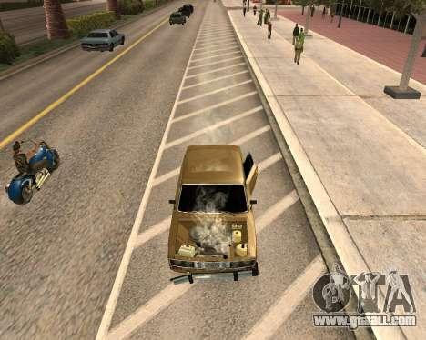VAZ 2106 Armenian for GTA San Andreas back left view