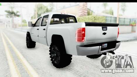 Chevrolet Silverado Duramax 2012 for GTA San Andreas left view