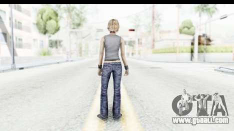 Silent Hill 3 - Heather Sporty Gray Pixel Droid for GTA San Andreas third screenshot