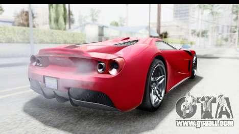 GTA 5 Vapid Bullet Face FMJ for GTA San Andreas right view