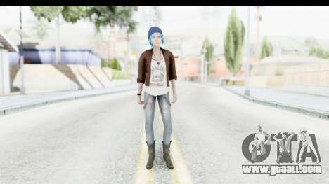 Life Is Stange Episode 3 - Chloe Jacket for GTA San Andreas second screenshot
