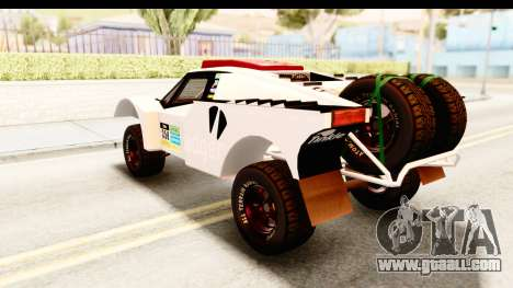GTA 5 Desert Raid SA Lights PJ for GTA San Andreas interior