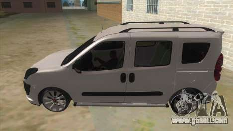 Fiat Doblo 2015 Series for GTA San Andreas left view