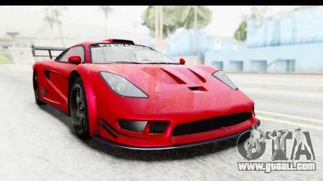 GTA 5 Progen Tyrus for GTA San Andreas right view