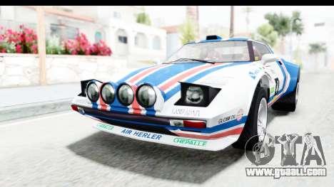 GTA 5 Lampadati Tropos Rallye No Headlights for GTA San Andreas side view
