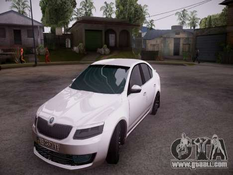 Skoda Octavia A7 R for GTA San Andreas left view