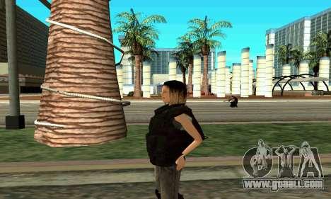 Female trainer SWAT for GTA San Andreas forth screenshot