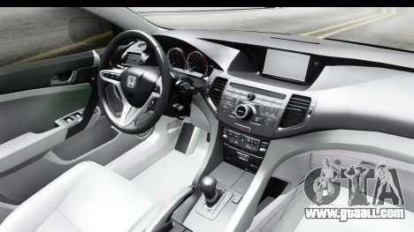 Honda Accord 2010 JDM for GTA San Andreas side view