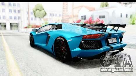 Lamborghini Aventador LP700-4 2012 for GTA San Andreas left view