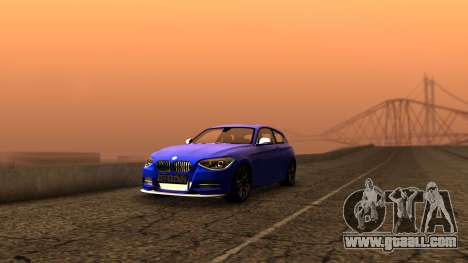 BMW M135i ISlaite Edition for GTA San Andreas