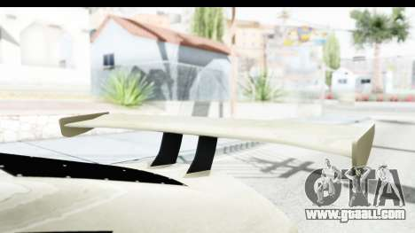 GTA 5 Emperor ETR1 IVF for GTA San Andreas inner view