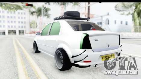 Dacia Logan Coil for GTA San Andreas left view