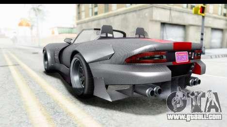 GTA 5 Bravado Banshee 900R Carbon Mip Map for GTA San Andreas left view