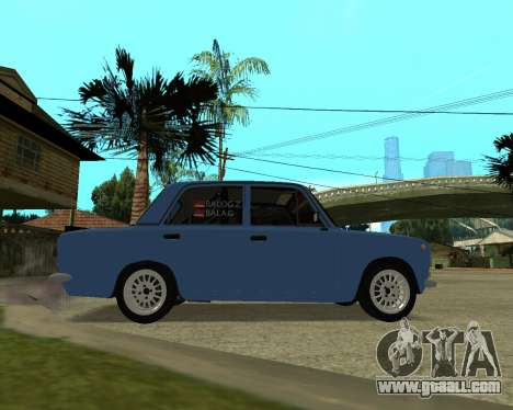 VAZ 2101 Armenia for GTA San Andreas back left view