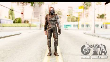 Marvel Future Fight - Winter Soldier for GTA San Andreas second screenshot
