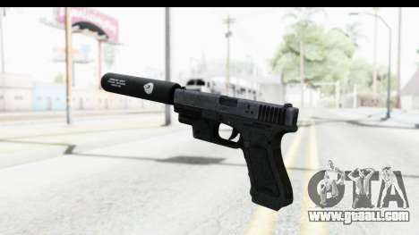 Glock P80 Silenced for GTA San Andreas third screenshot