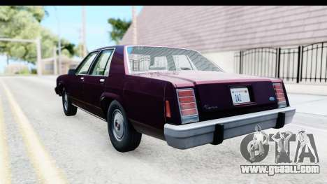 Ford LTD Crown Victoria 1987 for GTA San Andreas left view