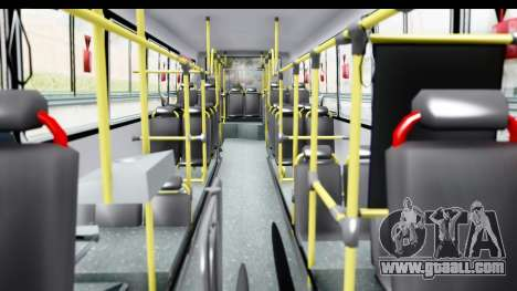 Bus La Favorita Ecotrans for GTA San Andreas inner view