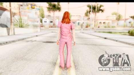 Silent Hill Shattered Memories - Lisa Garland for GTA San Andreas third screenshot