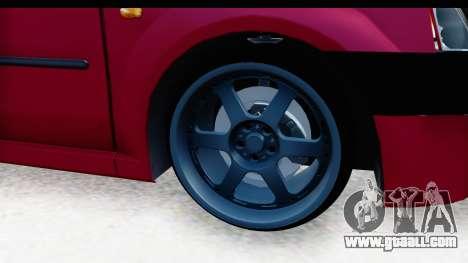 Dacia Logan Editie for GTA San Andreas back view