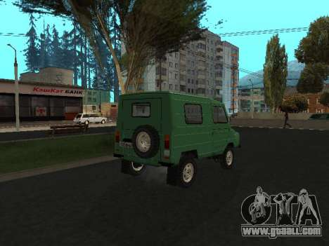 LuAZ 969М v2 for GTA San Andreas back left view