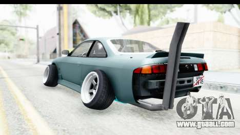 Nissan Silvia S14 Low and Slow for GTA San Andreas left view