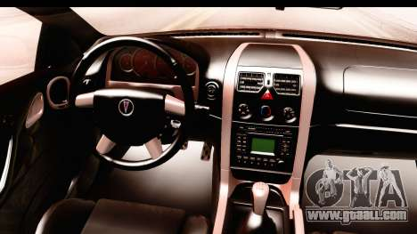 Pontiac GTO 2006 for GTA San Andreas inner view