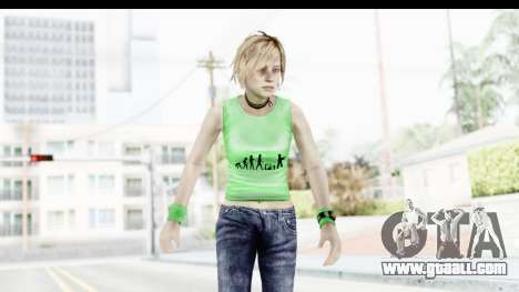 Silent Hill 3 - Heather Sporty Green Evolution for GTA San Andreas