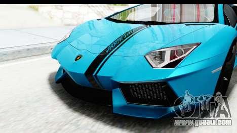 Lamborghini Aventador LP700-4 2012 for GTA San Andreas side view