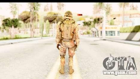 Danish Soldier for GTA San Andreas third screenshot