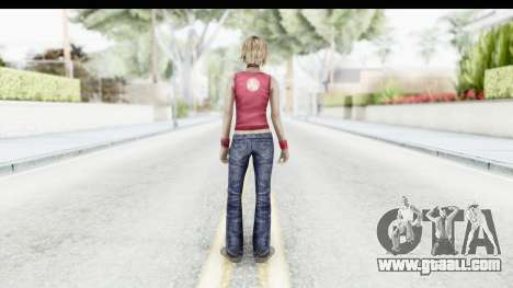 Silent Hill 3 - Heather Sporty Red Silent Hill for GTA San Andreas third screenshot