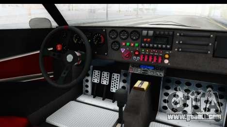 GTA 5 Lampadati Tropos IVF for GTA San Andreas inner view