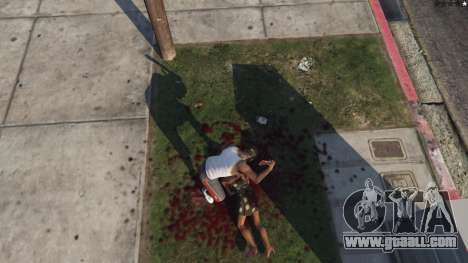 Extreme Blood 0.1 for GTA 5