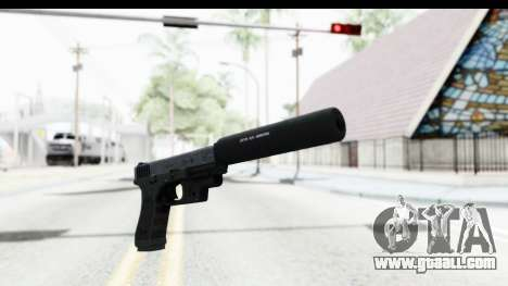 Glock P80 Silenced for GTA San Andreas second screenshot