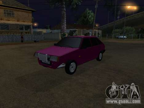 VAZ 2109 for GTA San Andreas