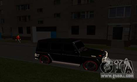 1999 Mercedes-Benz G55 AMG Brabus for GTA San Andreas side view
