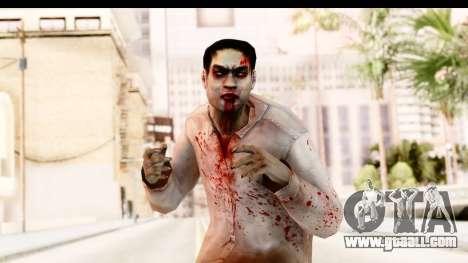 Left 4 Dead 2 - Zombie Shirt 1 for GTA San Andreas