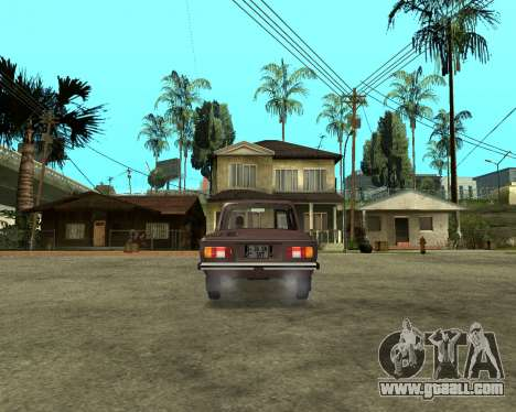 ZAZ 968M Armenia for GTA San Andreas left view