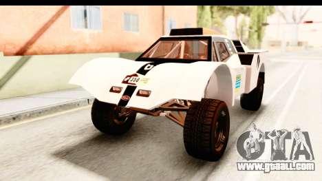 GTA 5 Desert Raid IVF PJ for GTA San Andreas bottom view