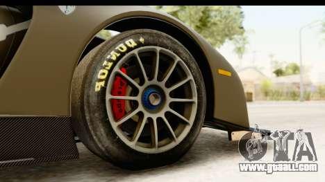 Scuderia Glickenhaus SCG 003C for GTA San Andreas back view