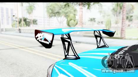 Nissan Silvia S15 D1GP Blue Toyo Tires for GTA San Andreas inner view