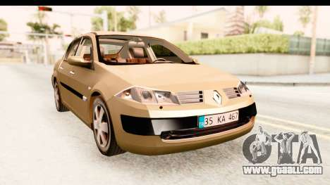 Renault Megane 2 Sedan 2003 for GTA San Andreas right view