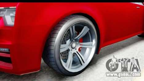 GTA 5 Enus Windsor Drop for GTA San Andreas back view