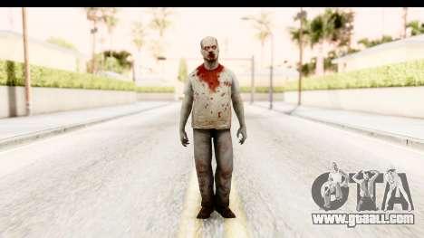 Left 4 Dead 2 - Zombie T-Shirt for GTA San Andreas second screenshot