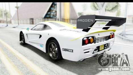 GTA 5 Progen Tyrus for GTA San Andreas engine