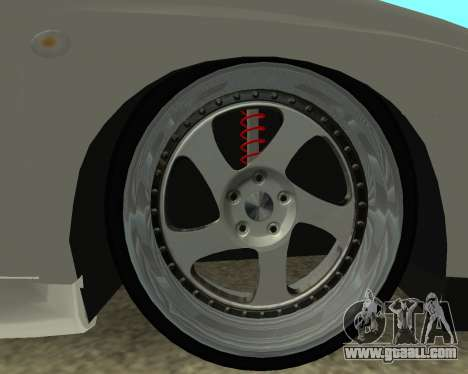 Subaru Impreza Armenian for GTA San Andreas back view