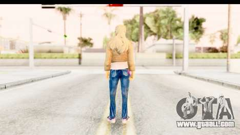 Girl from 90s for GTA San Andreas third screenshot