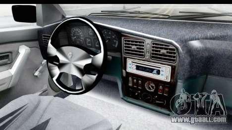 Renault 19 RE for GTA San Andreas inner view